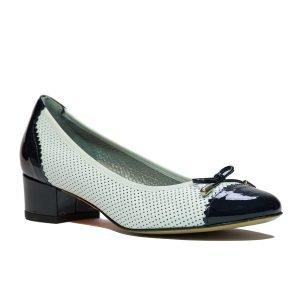 Pantofi Confort Bianco Blu 11251
