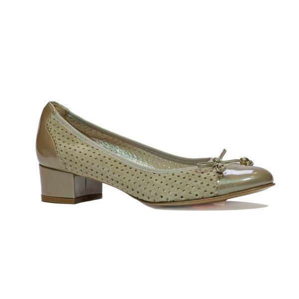Pantofi Confort Beige 1670