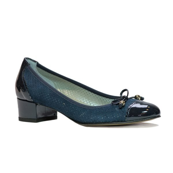 Pantofi Confort Blu 1705