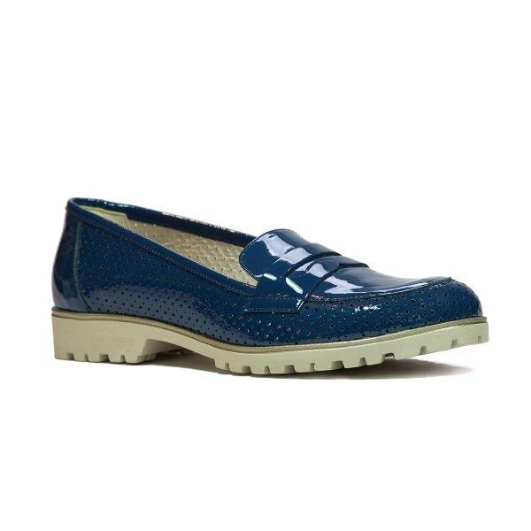 Pantofi Confort Bleumarin 2471