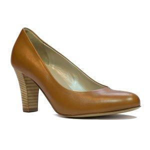 Pantofi Confort Cognac 5521