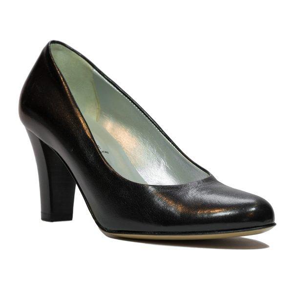 Pantofi Confort Negri 5521