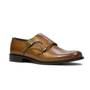 Pantofi Cognac 01490
