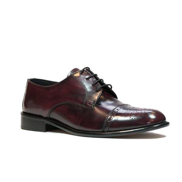 Pantofi Bordo 016