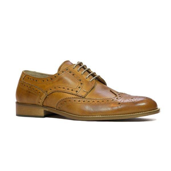 Pantofi Cognac deschis 305