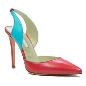 Pantof stileto corai Riri