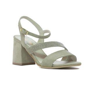 Sandale Piele Intoarsa Ice JO030