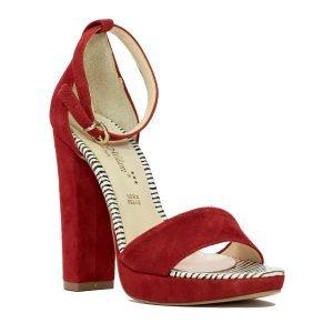 Sandale rosii 17012