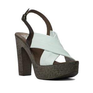 Sandale albe 7626