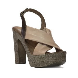 Sandale bej 7626