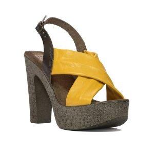 Sandale galbene 7626