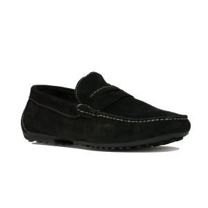 Mocasin negru 93413