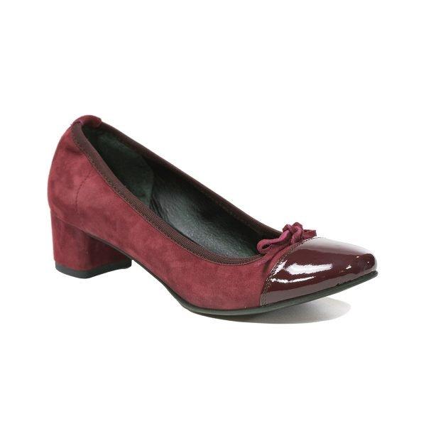 Pantofi Bordo 6503