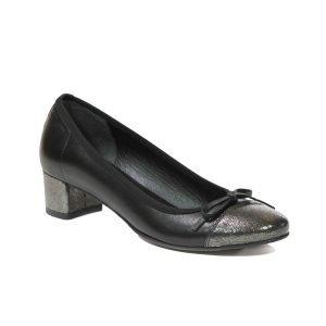 Pantofi Bronz + Nero 6503