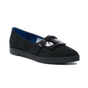 Pantofi Catifea Nero 9105