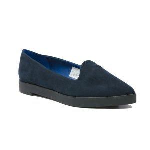 Pantofi Catifea Blu 9114
