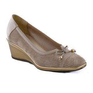 Pantofi Confort Beige 2532