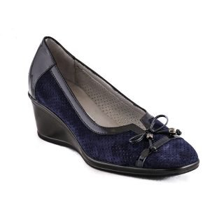Pantofi Confort Blu 2532