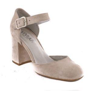 Pantofi Nude E71D