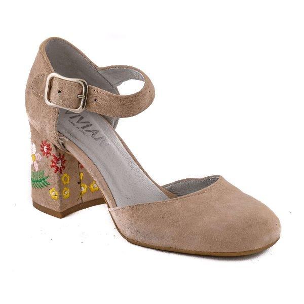 Pantofi Nude E71