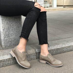 Pantofi Beige 3056